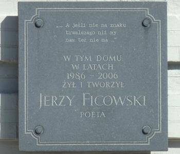 Wiersze Jerzy Ficowski