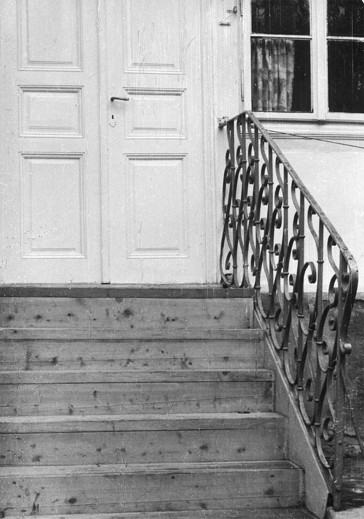 Drohobych, the stairs to Schulz's house, photo by Jerzy Ficowski