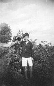 Jerzy Ficowski w dzieciństwie, fot. Tadeusz Ficowski
