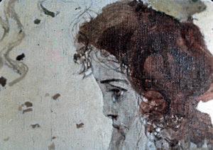 Fragment obrazu Witolda Wojtkiewicza Wezwanie (Hołd), Fot. Romuald M. Sołdek